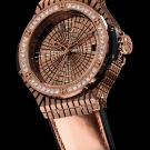 Hublot Big Bang Caviar Watch Red Gold Diamonds Watch