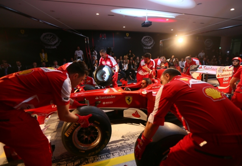 Hublot and Ferrari Special Event in Dubai
