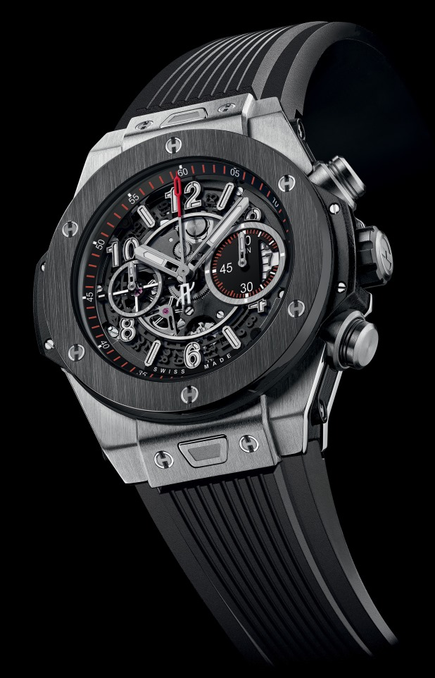 Hublot Big Bang Unico Chronograph Titanium Ceramic Watch