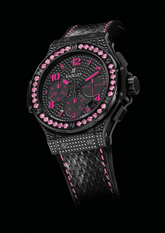 Hublot Big Bang Black Fluo Diamond Watch 341.SV.9090.PR.0933