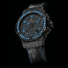 Hublot Big Bang Black Fluo Diamond Watch 341.SV.9090.PR.0901