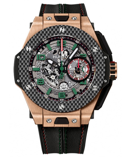 Hublot Big Bang Ferrari Mexico Chronograph Gold Watch