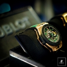 Hublot Big Bang Ferrari Mexico Chronograph Watch Side