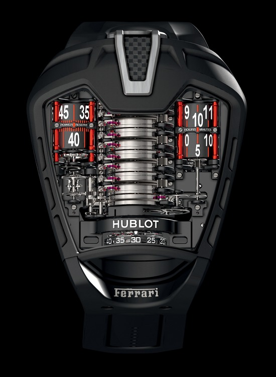"Hublot Masterpiece MP-05 ""La Ferrari"" Watch Front"