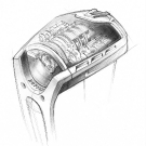 "Hublot Masterpiece MP-05 ""La Ferrari"" Watch Sketch"