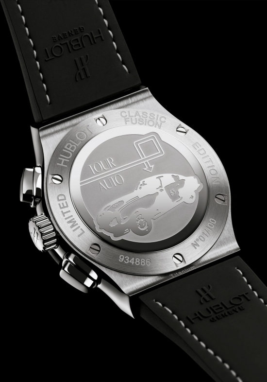 Hublot Classic Fusion Tour Auto Chrono Watch Caseback