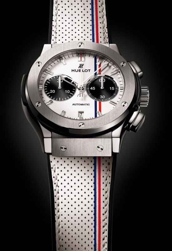 Hublot Classic Fusion Tour Auto Chrono Watch Front