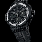 Hublot Big Bang Carbon Bezel Baguette Diamond Watch