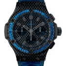 Hublot Big Bang Carbon Bezel Baguette Sapphire Watch Front