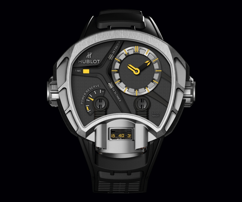 Hublot MP-02 Key of Time Titanium Watch Front