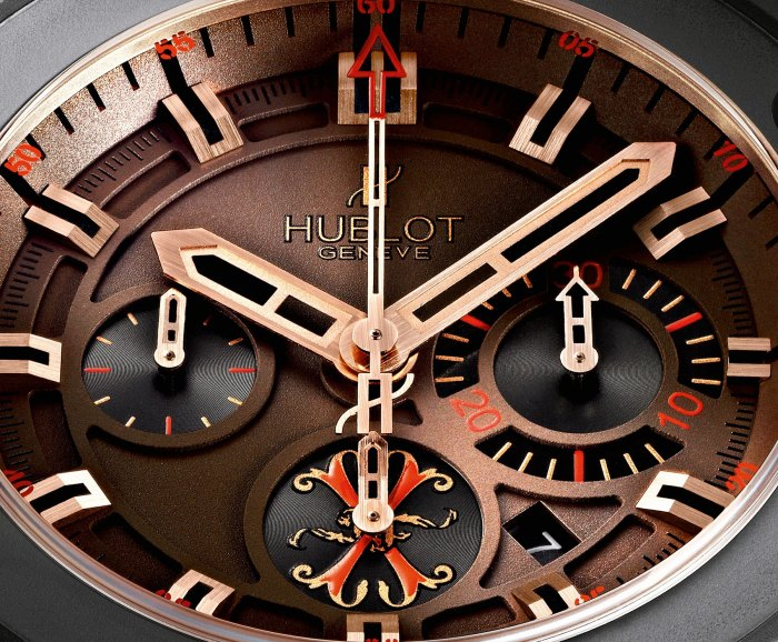 "Hublot King Power ""Arturo Fuente"" Watch Dial"