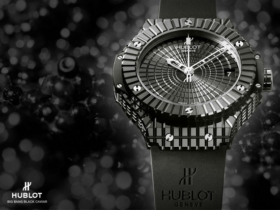 Hublot Big Bang Black Caviar Watch