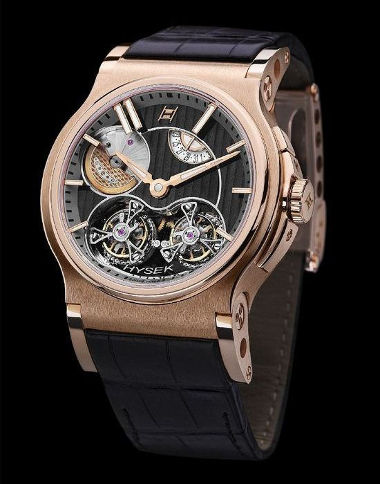 Hysek Verdict Double Tourbillon Watch