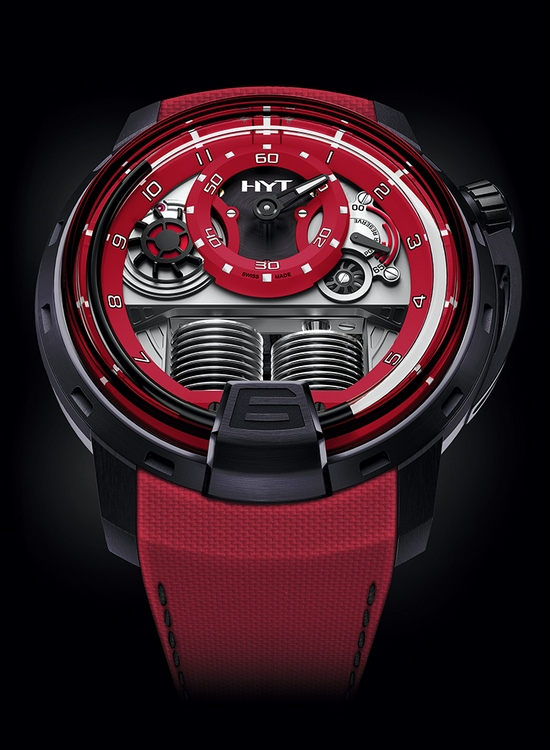 HYT H1 Colorblock Watch Red