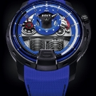 HYT H1 Colorblock Watch Blue