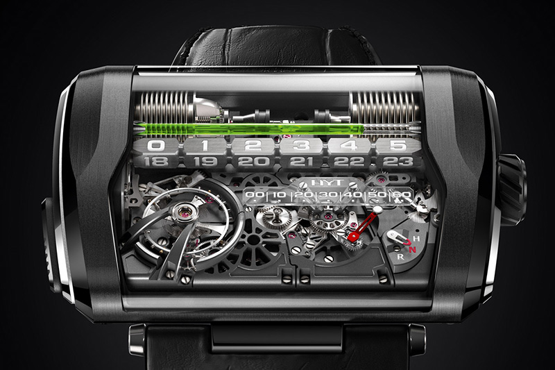 HYT H3 Watch Dial