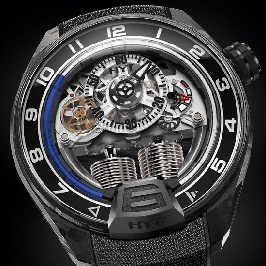 HYT H4 RC44 Watch Dial