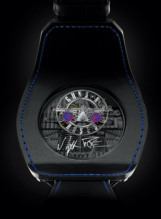 HYT Skull Axl Rose Watch Case Back
