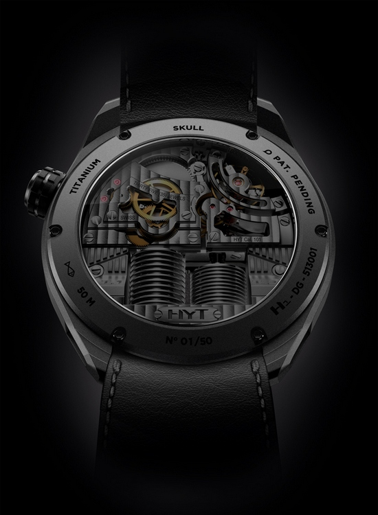 HYT Skull Bad Boy Watch Back