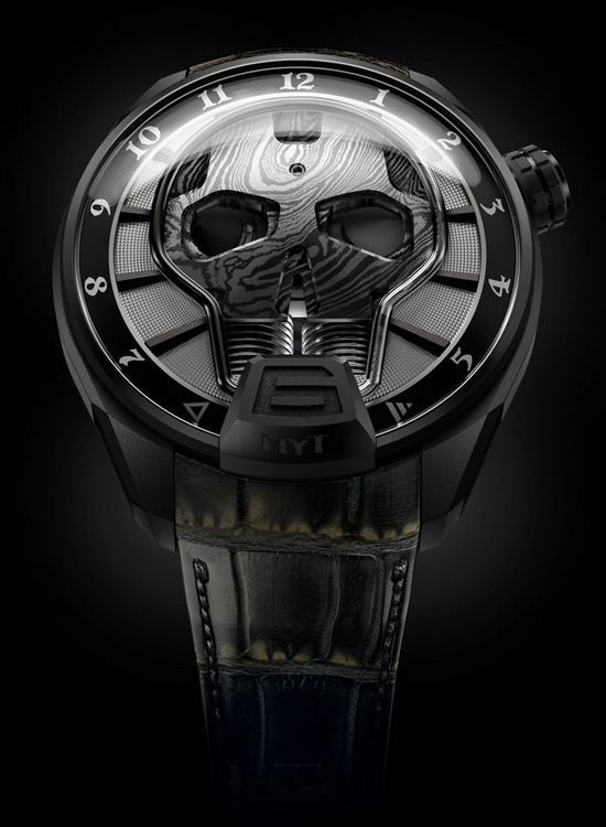 HYT Skull Bad Boy Watch Front