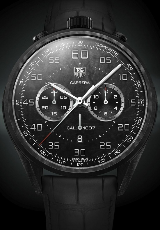 Tag Heuer Carrera Carbon Matrix Composite Concept Watch