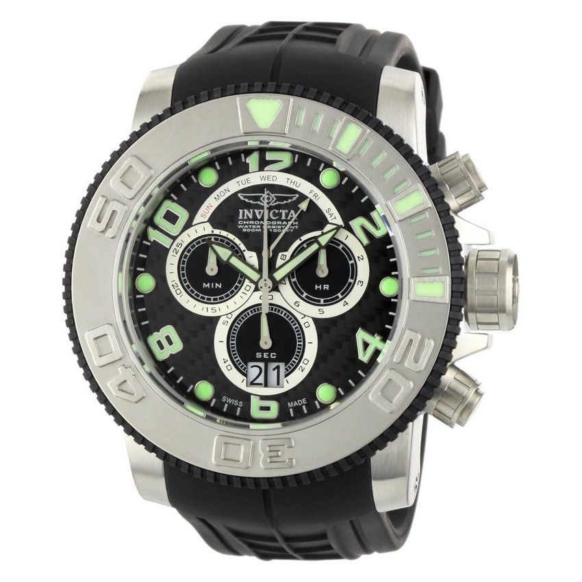 Invicta Pro Diver Sea Hunter Chrono 0412 Watch