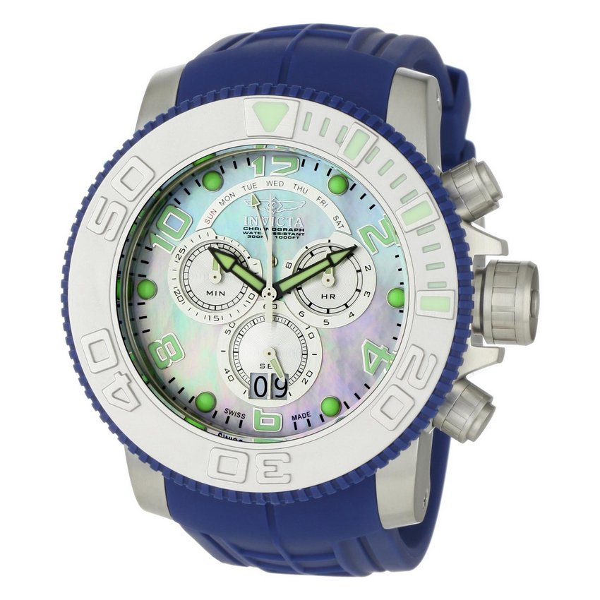 Invicta Pro Diver Sea Hunter Chrono 0859 Watch