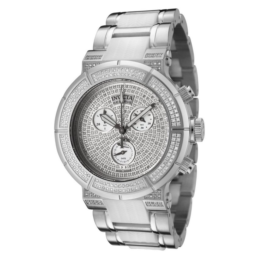 Invicta Reserve Lady Ocean Reef Diamond Pave Watch 0187