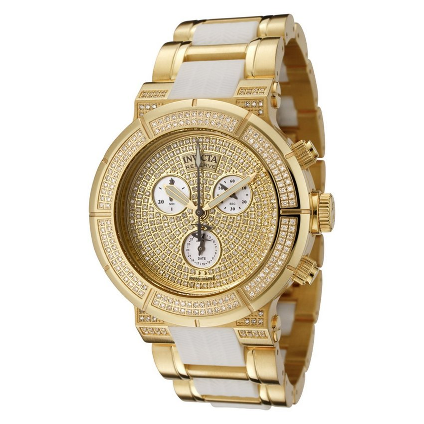 Invicta Reserve Lady Ocean Reef Diamond Pave Watch 0188