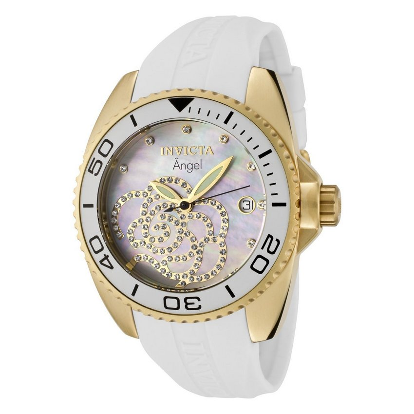 Invicta Rose Angel Quartz Watch 0488