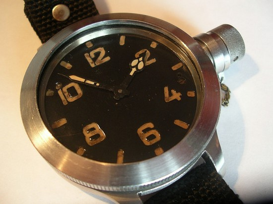Zlatoust 191-ChS Triton Watch