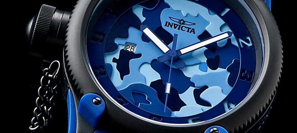 Invicta Russian Diver Camo Limited Edition Watch 1197