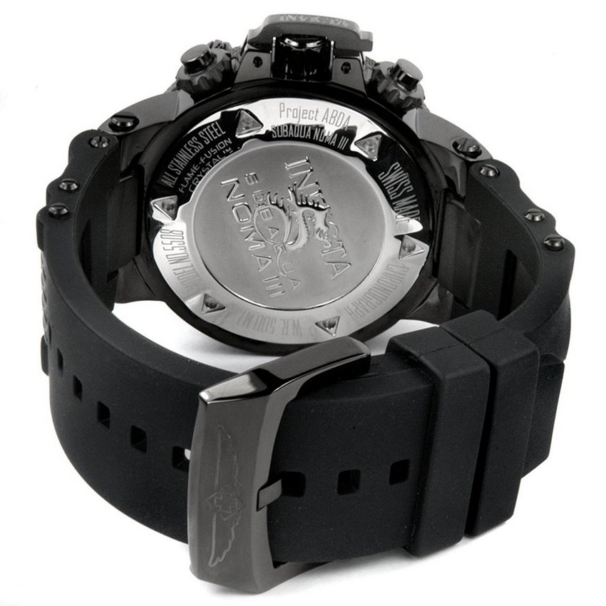 Invicta Subaqua Noma III Flex Ion-Plated Watch 5508