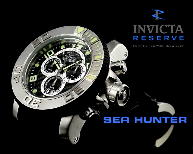 Invicta Reserve Sea Hunter Watch