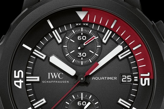 "IWC Aquatimer Chronograph Edition ""La Cumbre Volcano"" Watch Dial"