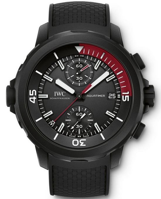 "IWC Aquatimer Chronograph Edition ""La Cumbre Volcano"" Watch"