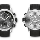 "IWC Aquatimer Chronograph Edition ""Sharks"" Front and Back"