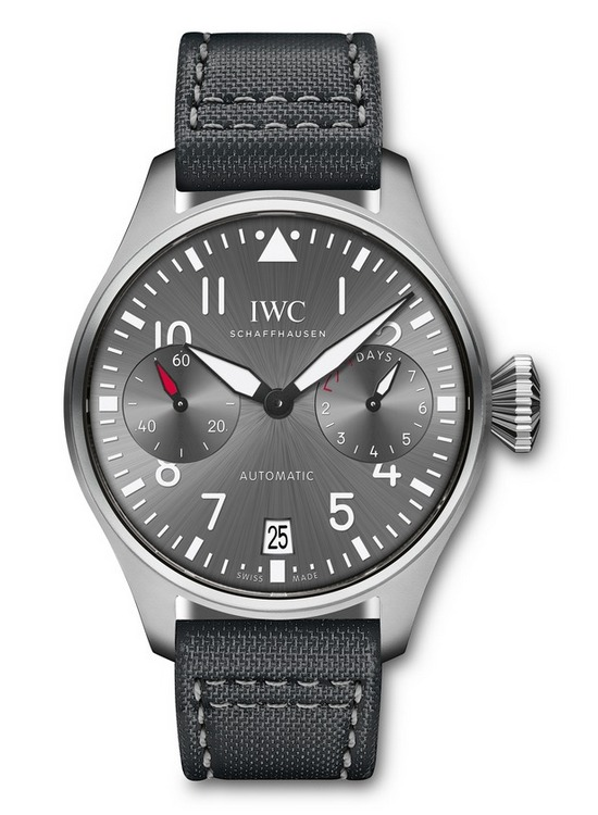 "IWC Big Pilot's Watch Edition ""Patrouille Suisse"" Front"