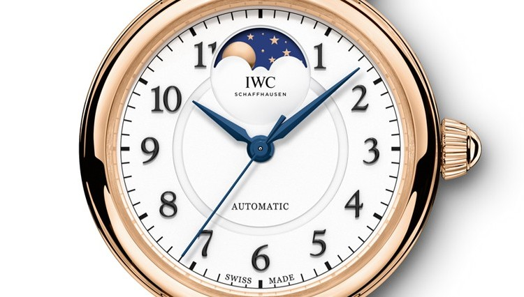 IWC Da Vinci Automatic Moon Phase 36 Watch IW459308 Dial