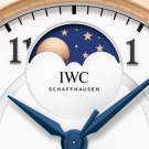 IWC Da Vinci Automatic Moon Phase 36 Watch IW459308 - Moon Phase Indicator
