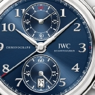 IWC Da Vinci Chronograph Laureus Edition Watch Dial