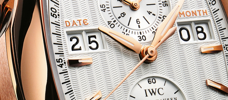 IWC Da Vinci Perpetual Calendar Digital Date-Month Watch