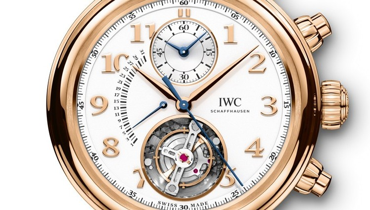 IWC Da Vinci Tourbillon Retrograde Chronograph Watch Dial