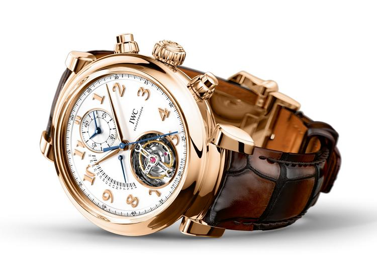 IWC Da Vinci Tourbillon Retrograde Chronograph Watch IW393101 Lifestyle