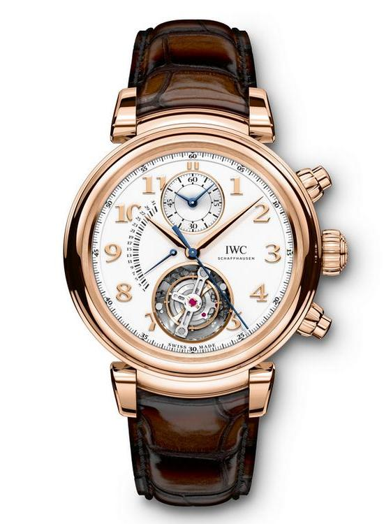 IWC Da Vinci Tourbillon Retrograde Chronograph Watch IW393101