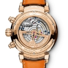 IWC Da Vinci Tourbillon Retrograde Chronograph Watch IW393101 Back