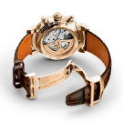IWC Da Vinci Tourbillon Retrograde Chronograph Watch IW393101 Lifestyle Back