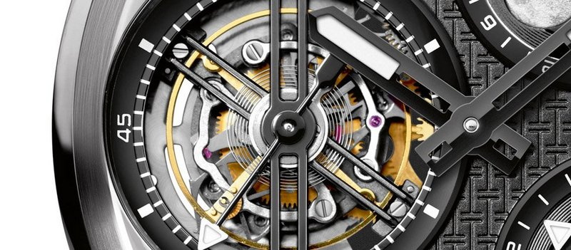 IWC Ingenieur Constant-Force Tourbillon Watch Dial Detail