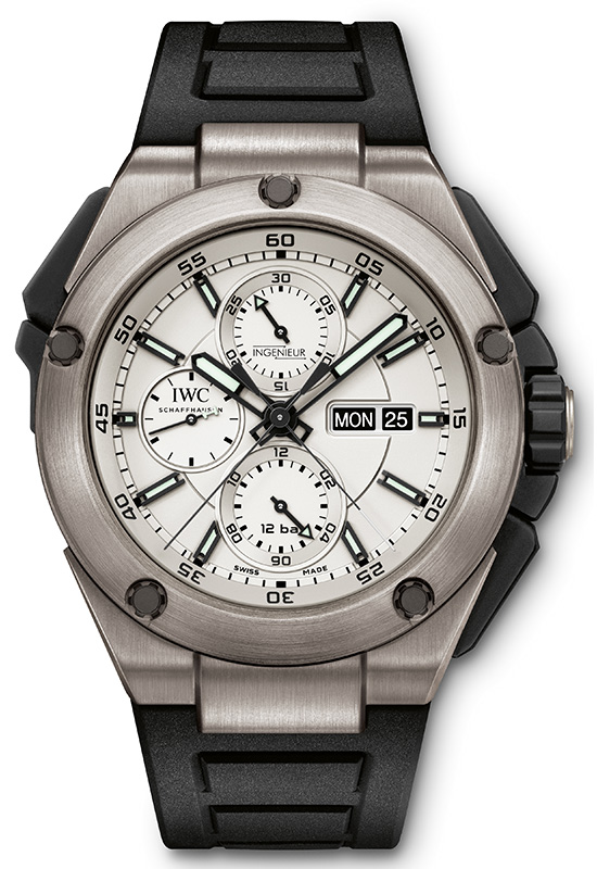 IWC Ingenieur Double Chronograph Titanium IW386501 Watch