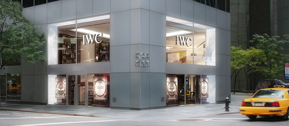 IWC New York Boutique Madison Avenue